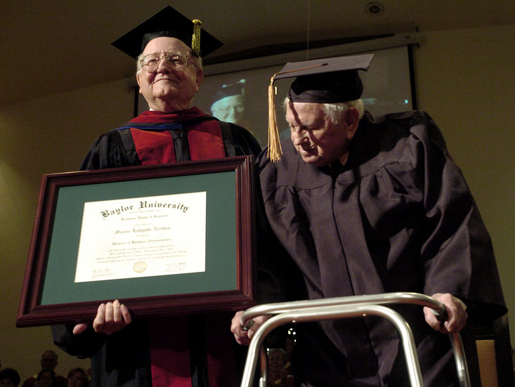 The 81 Year Degree Plan BBA Awarded To Oldest Recipient In