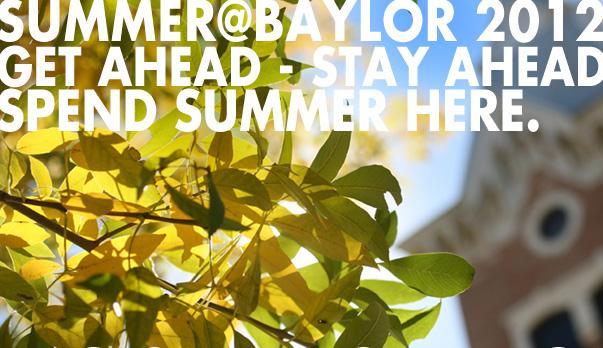 Summer@Baylor 2012