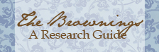 The Brownings A Research Guide