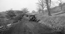 1933 unpaved road