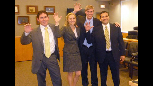 Baylor Law Students Sweep Top Honors at National Trial Competition