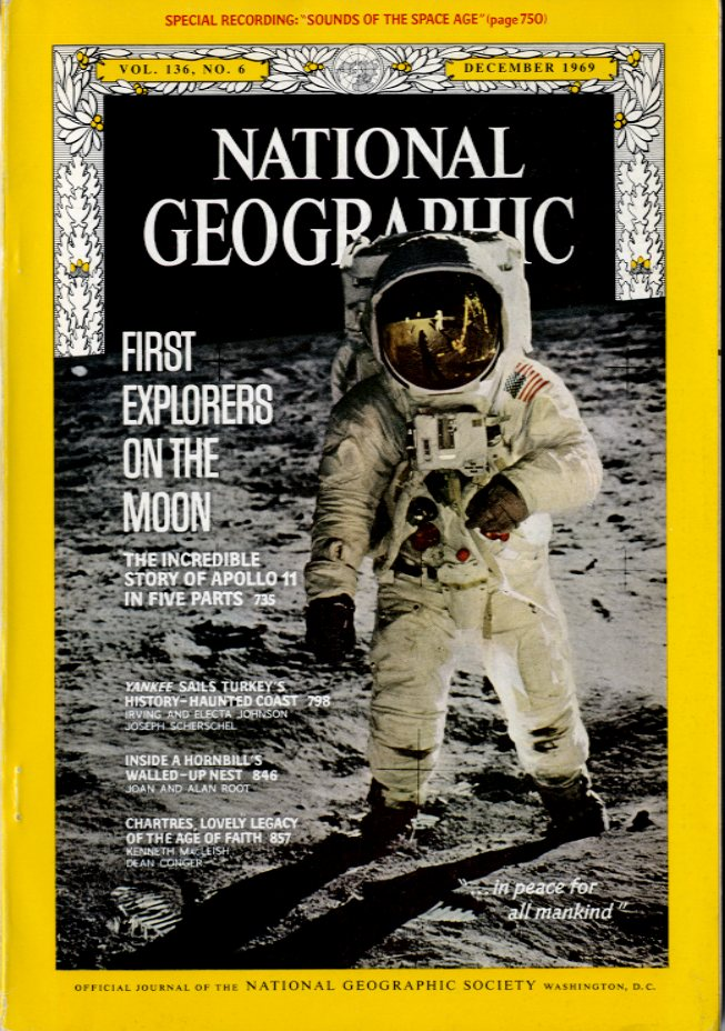 National Geographic - December, 1969