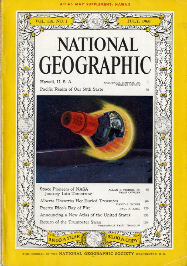 National Geographic - July, 1960