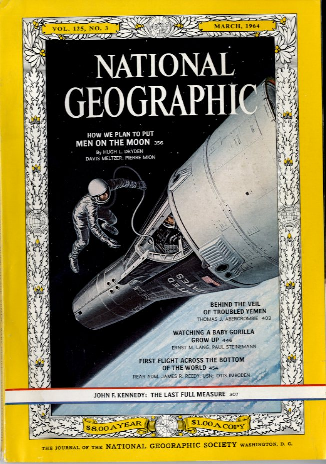 National Geographic - March, 1964
