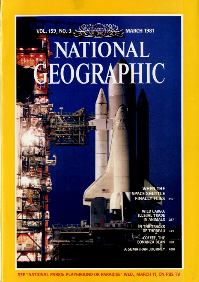 National Geographic - March, 1981
