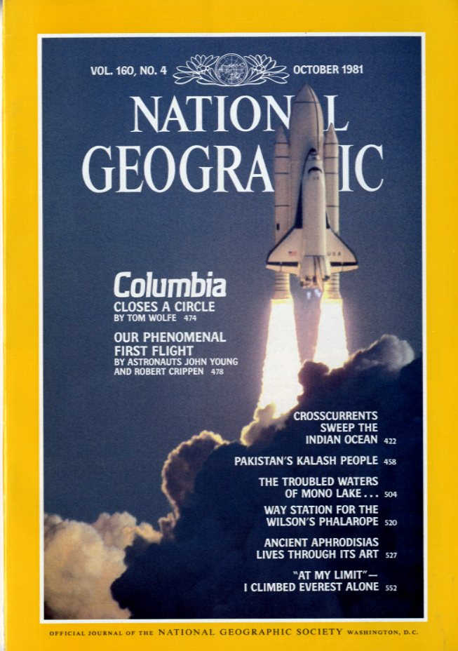 National Geographic - October, 1981