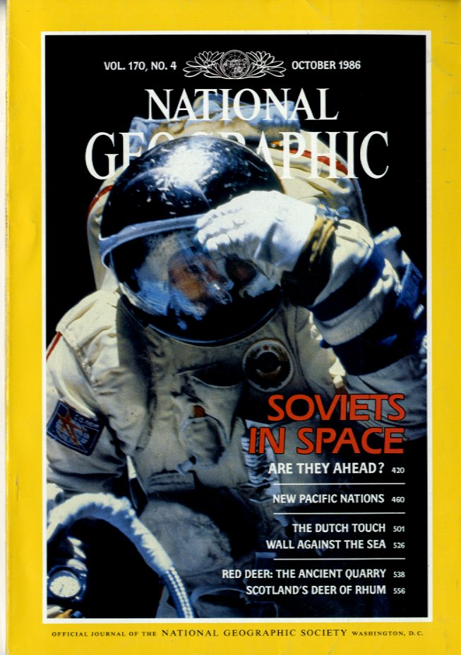 National Geographic - October, 1986