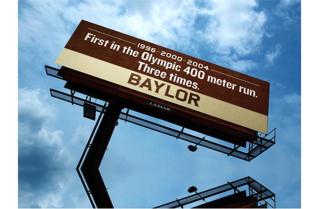 Billboard - 400M Olympics