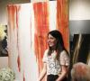 Erica Wickett and her artwork