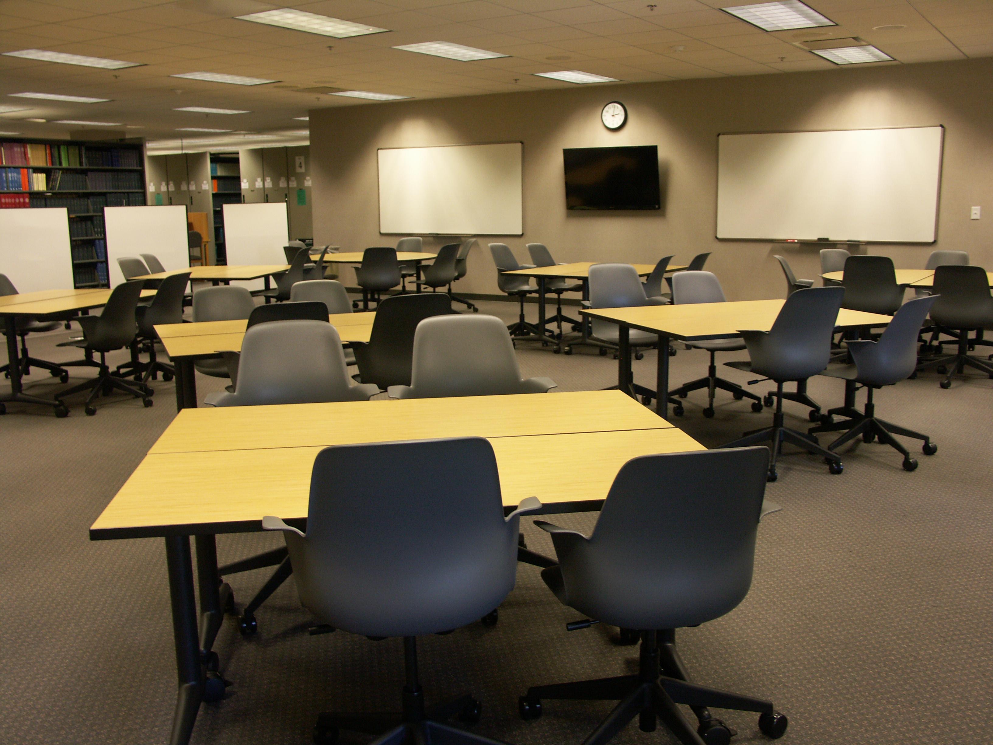 Baylor Reserve Study Room