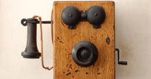 early crank telephone