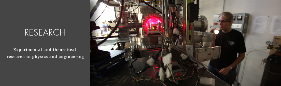 CASPER teams conduct research in a number of theoretical and experimental areas