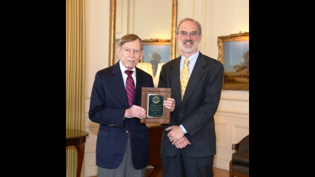 Roger Kirk Presented with Award