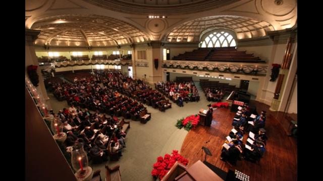 Truett Seminary Commencement
