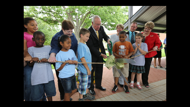 Gov. Bill and Vara Daniel Historic Village at Baylor University Opens