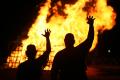 Baylor Homecoming Bonfire