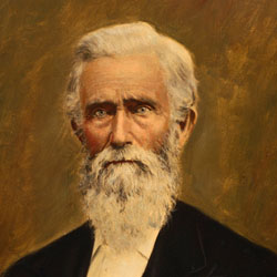 Baylor President George Washington Baines