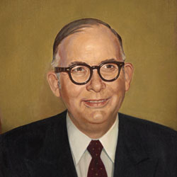 Baylor President William R. White