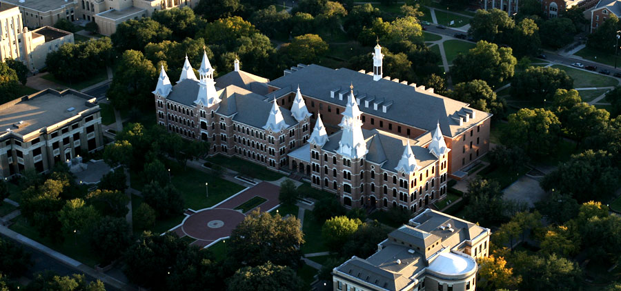 Burleson Quadrangle from Above