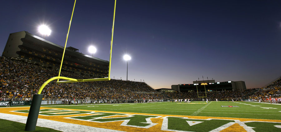 Floyd Casey Stadium - Field-level