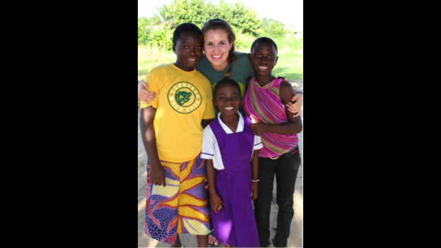 Baylor junior Emily Sue Hood- Community Development in Ghana