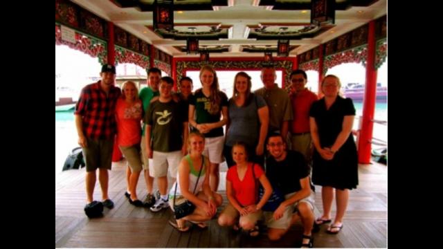 Baylor Music Team in Malaysia/Hong Kong