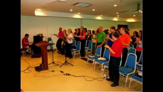 Baylor Music in Malaysia/Hong Kong; worship service