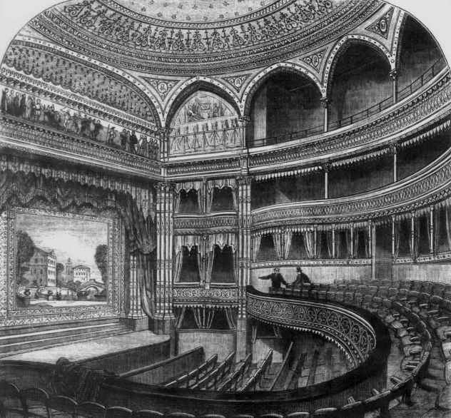 The lost theatres of London: in pictures