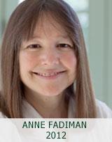 ANNE FADIMAN 2012