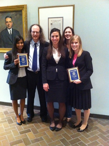 Moot Court Fifth in Nation