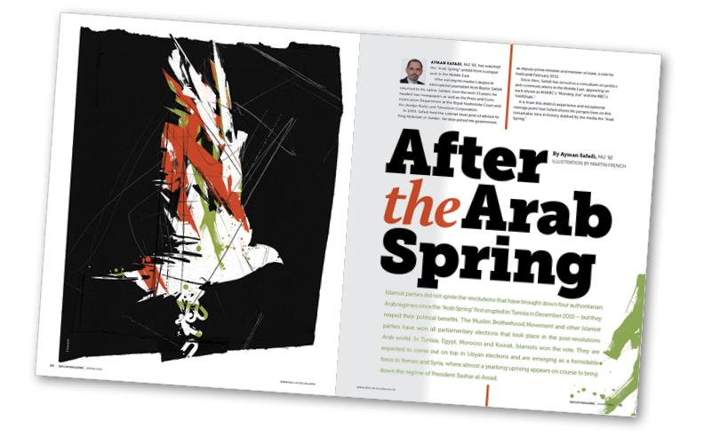 Printed Story Arab Spring