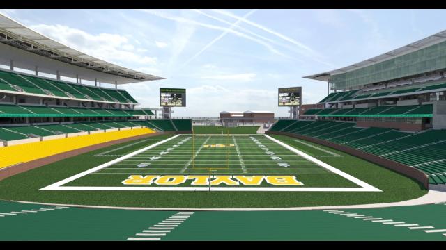 Baylor Stadium Rendering - Endzone View