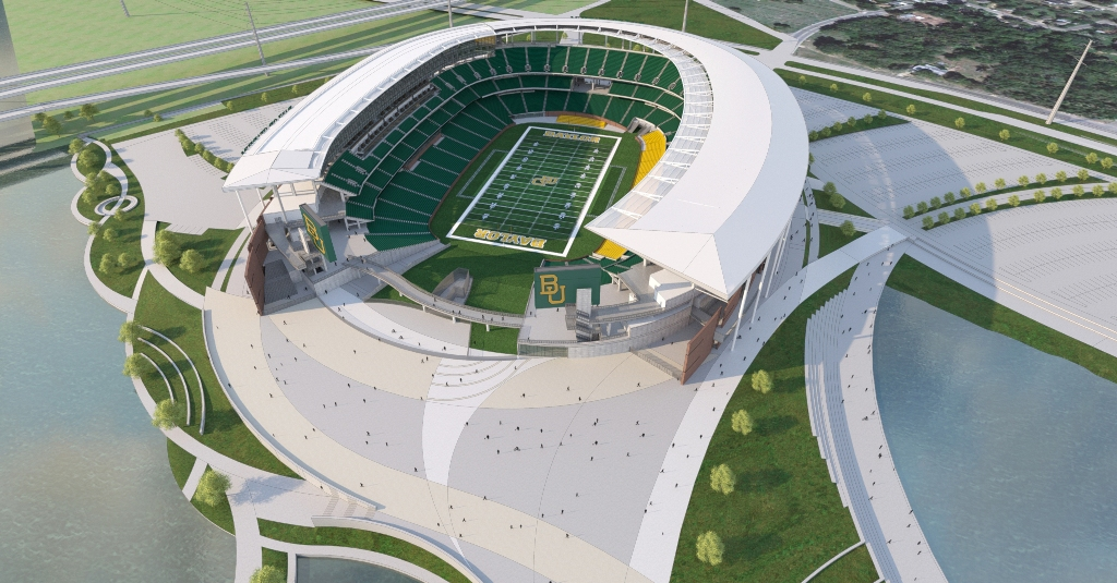 Baylor Regents Vote To Move Forward With Baylor Stadium