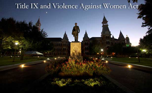 Title IX and Violence Against Women Act