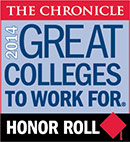 Chronicle: Great Colleges to Work for - 2014