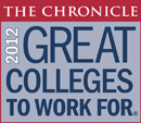 Chronicle: Great Colleges to Work for - 2013