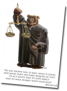 Judge Bear and Verse