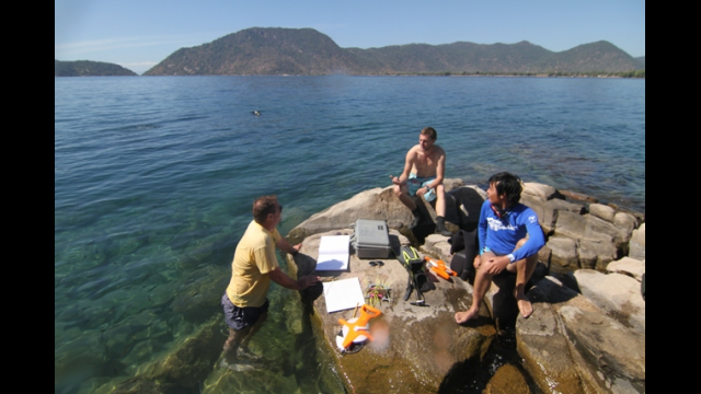 Patrick Danley at Lake Malawi