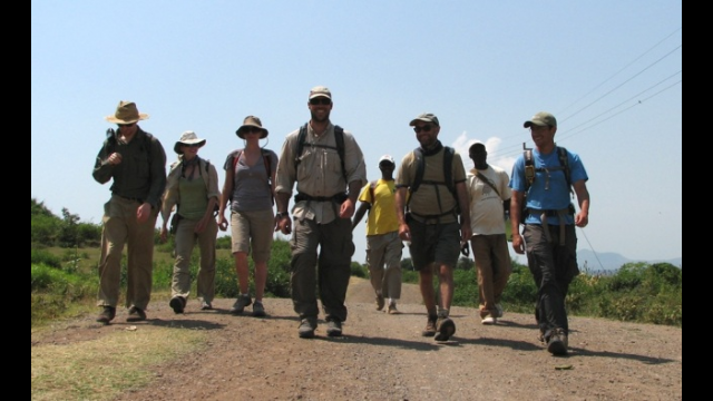Daniel Peppe at Lake Victoria