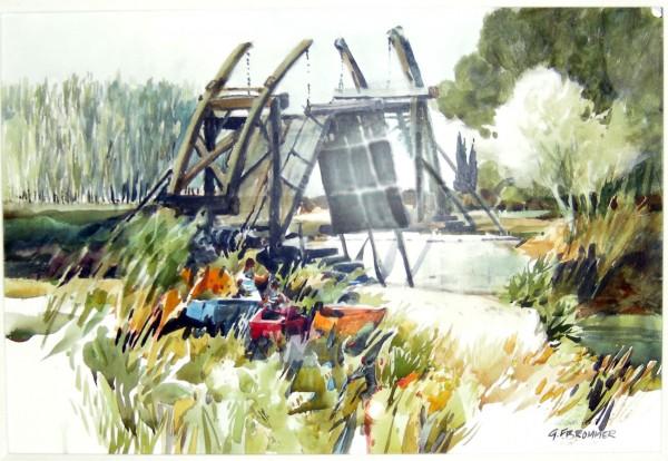 Gerald Brommer, Van Gogh's Bridge.