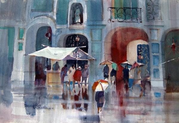 Morris Shubin, Rainy Day, San Miguel.