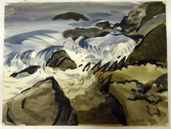 George Post, Surf at Land's End.