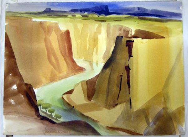 George Post, Glen Canyon Arizona.