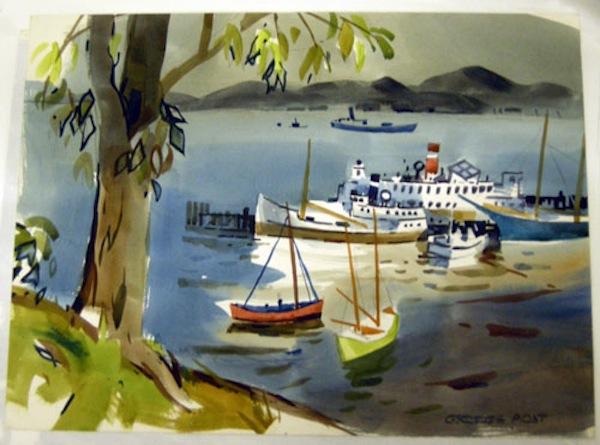 George Post, Aquatic Park San Francisco, 1978.