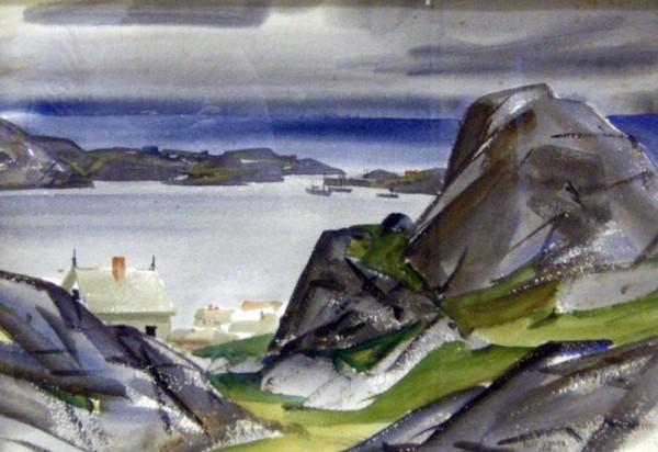 Eliot O'Hara, Sirevaag Norway, 1948.