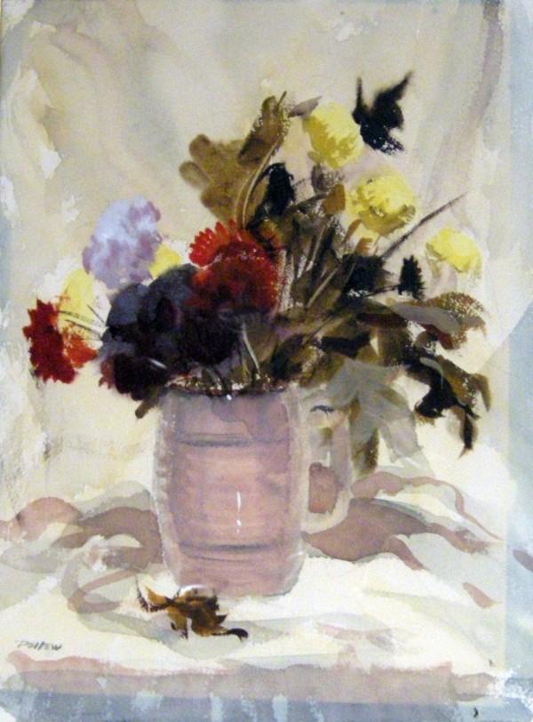 John Pellew, Still Life Flowers.