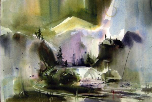 Ray Loos, Cataract Echo Mountains.