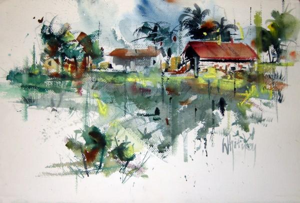 Edgar Whitney, Sign Great House, Jamaica, 1972.