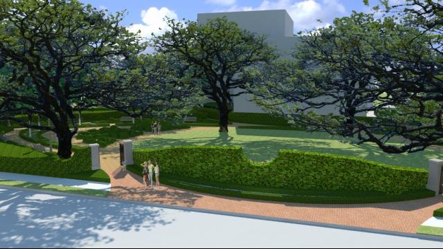 Garden Architectural Rendering