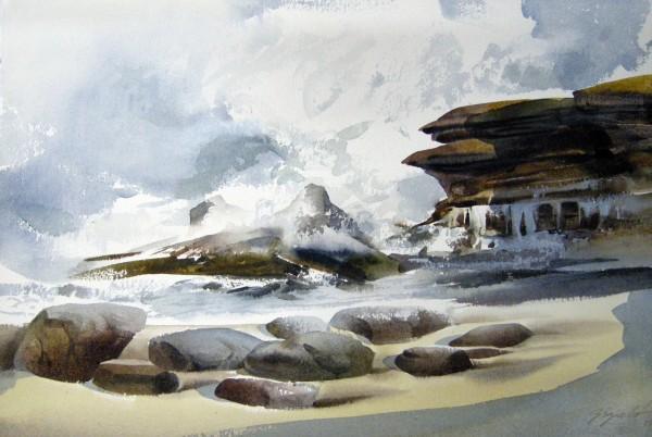 Zoltan Szabo, La Jolla Cove.